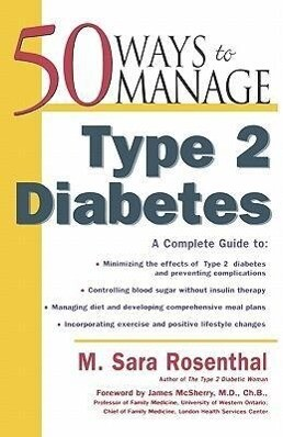 50 Ways to Manage Type 2 Diabetes als Taschenbuch