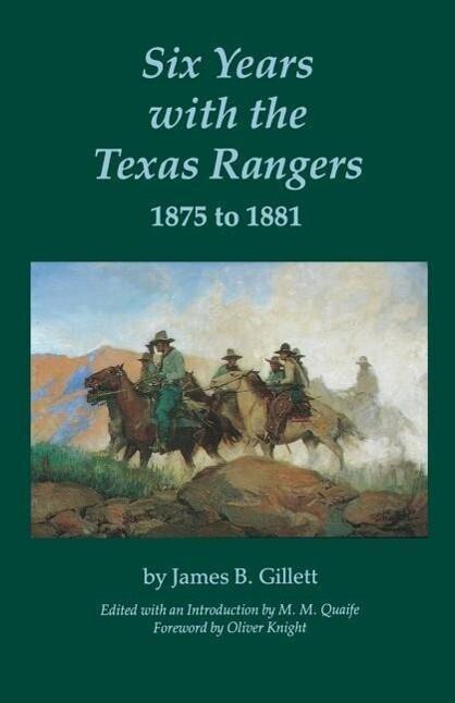 Six Years with the Texas Rangers als Taschenbuch