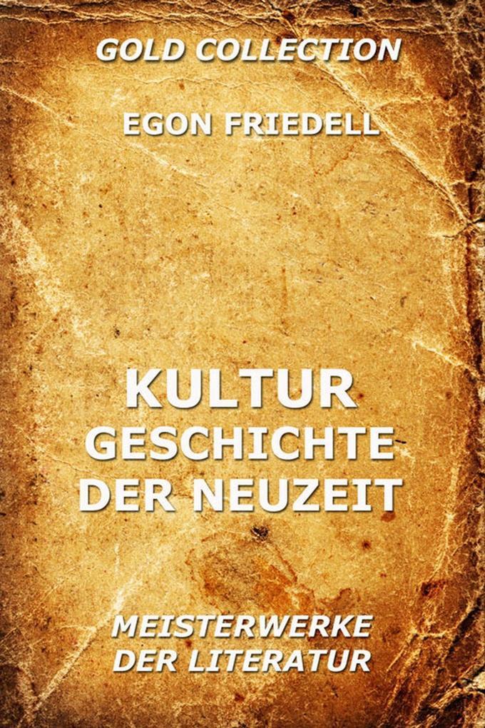 Kulturgeschichte der Neuzeit als eBook