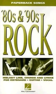 '80s & '90s Rock als Taschenbuch