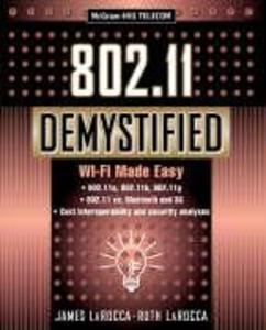 802.11 Demystified: Wi-Fi Made Easy als Taschenbuch