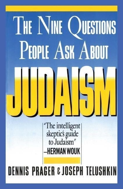 Nine Questions People Ask about Judaism als Taschenbuch