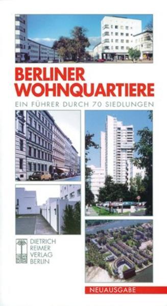 Berliner Wohnquartiere als Buch
