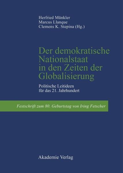 Der demokratische Nationalstaat in den Zeiten der Globalisierung als Buch