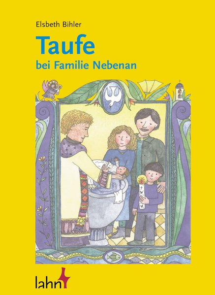 Taufe bei Familie Nebenan als Buch