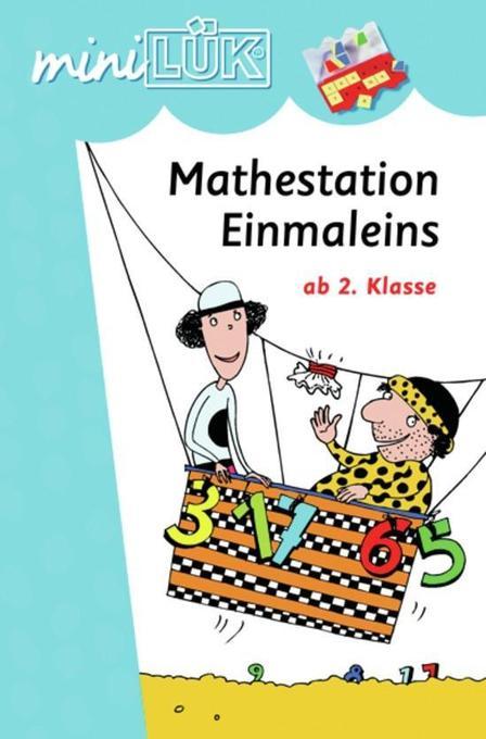 miniLÜK - Mathestation 1x1 als Buch