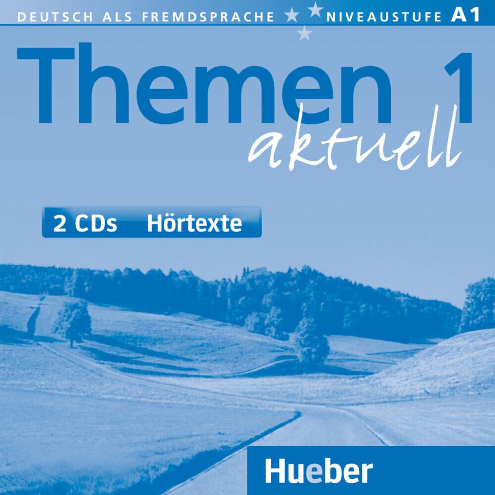 Themen aktuell 1. 2 CDs als Hörbuch