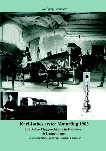 Karl Jathos erster Motorflug 1903 als Buch