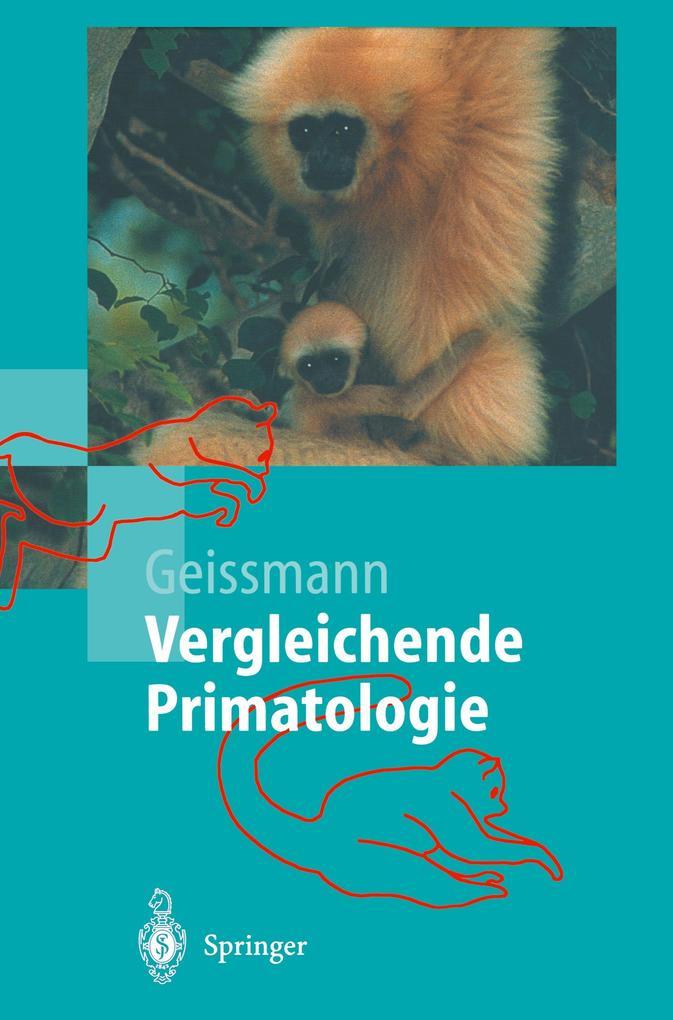 Vergleichende Primatologie als Buch