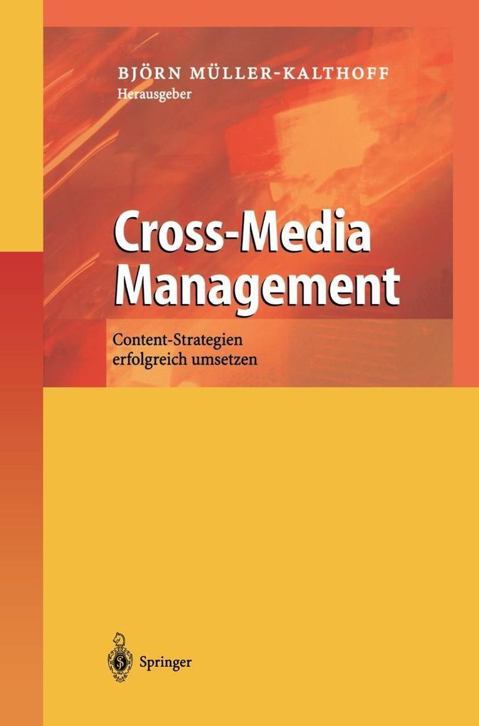 Cross-Media Management als Buch