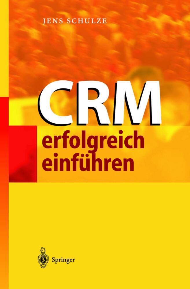 CRM erfolgreich einführen als Buch