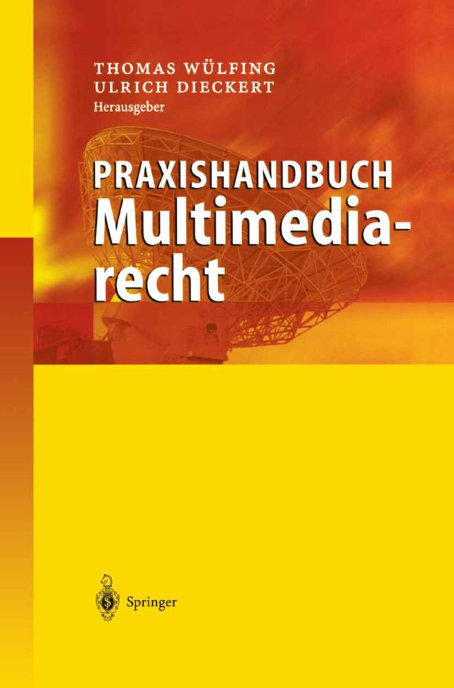 Praxishandbuch Multimediarecht als Buch