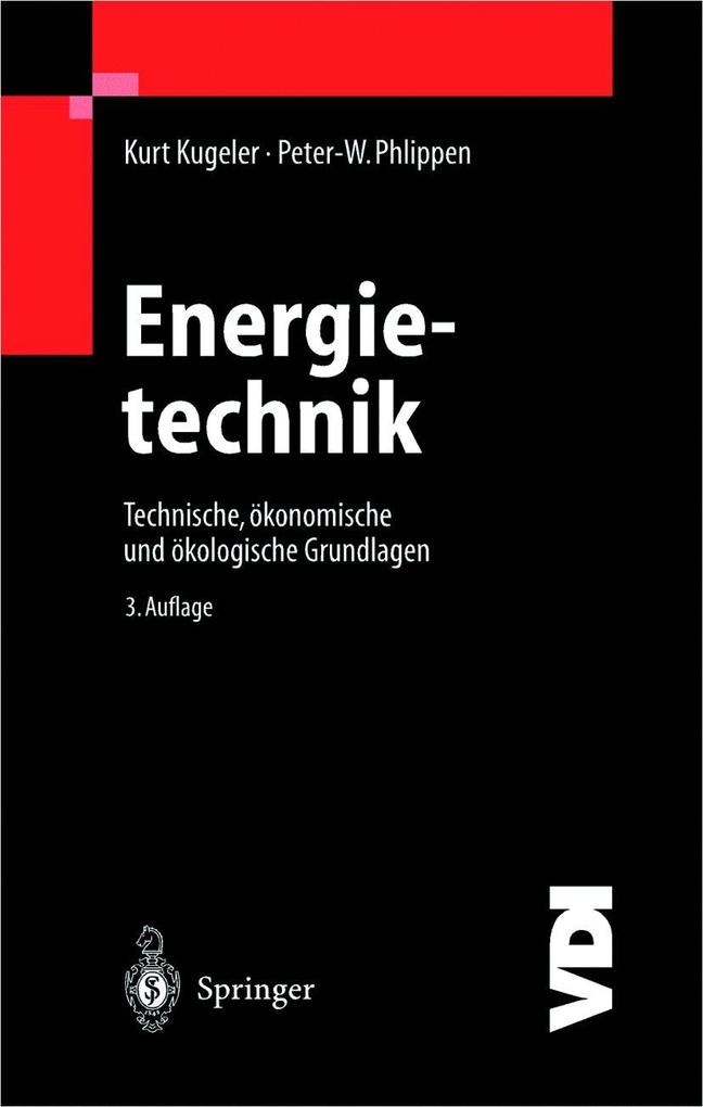 Energietechnik als Buch