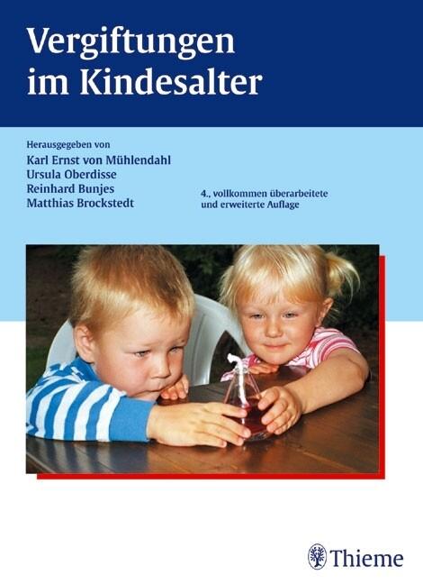 Vergiftungen im Kindesalter als Buch