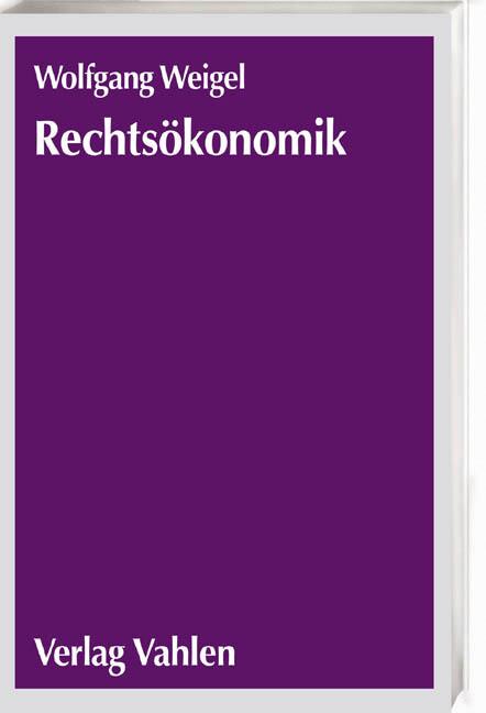 Rechtsökonomik als Buch