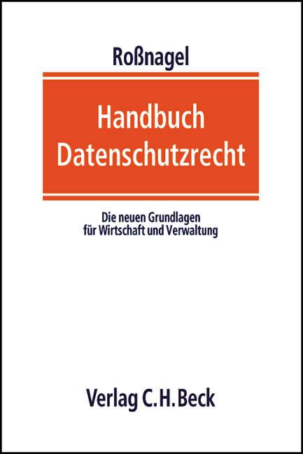 Handbuch Datenschutzrecht als Buch