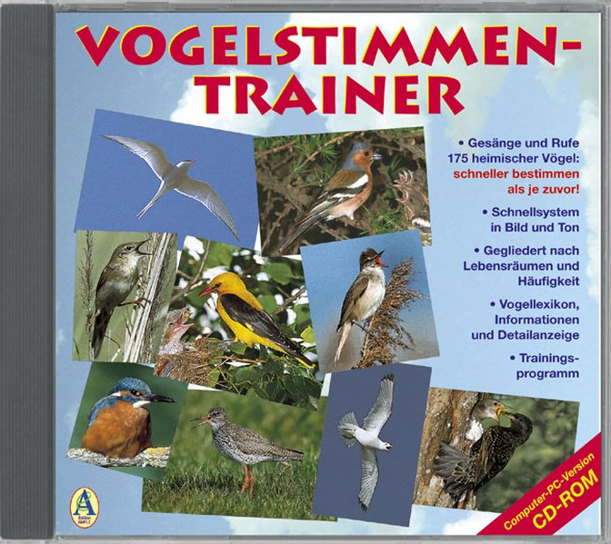 Vogelstimmen-Trainer. CD-ROM als Software