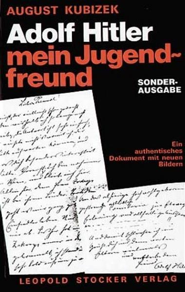 Adolf Hitler - mein Jugendfreund als Buch