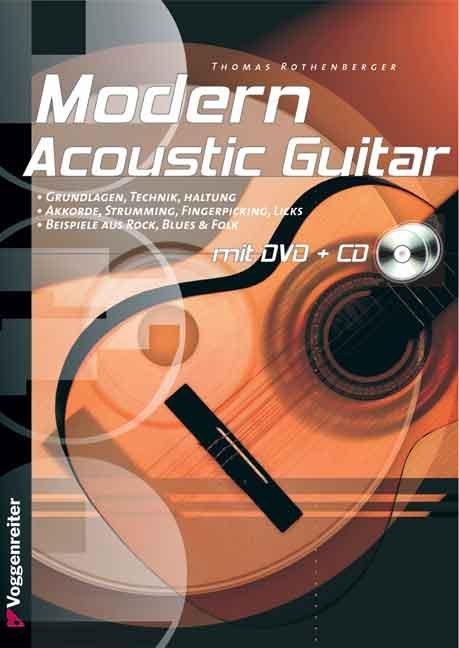 Modern Acoustic Guitar. Mit CD und DVD als Buch