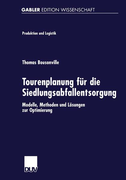 Tourenplanung für die Siedlungsabfallentsorgung als Buch