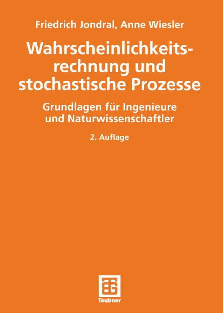 Wahrscheinlichkeitsrechnung und stochastische Prozesse als Buch
