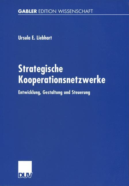 Strategische Kooperationsnetzwerke als Buch