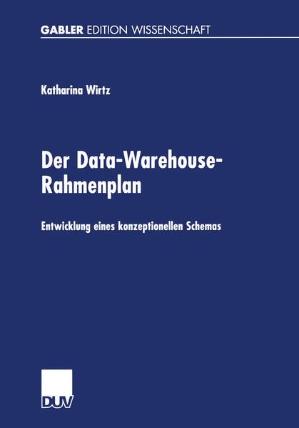Der Data-Warehouse-Rahmenplan als Buch