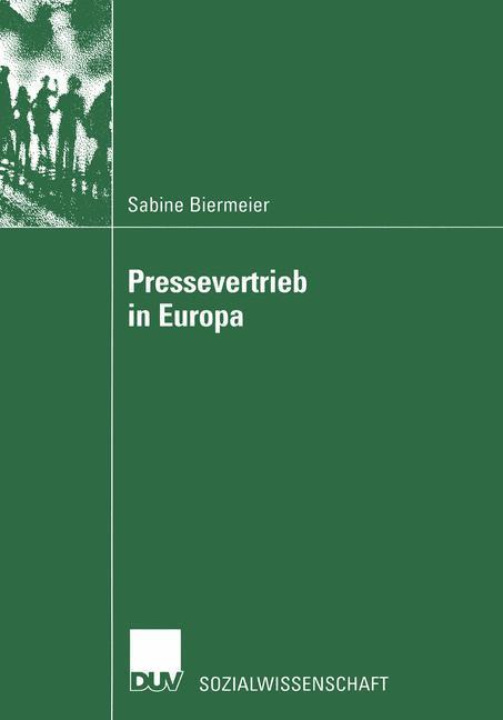 Pressevertrieb in Europa als Buch