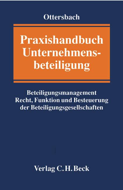 Praxishandbuch Unternehmensbeteiligung als Buch