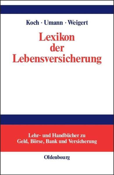Lexikon der Lebensversicherung als Buch
