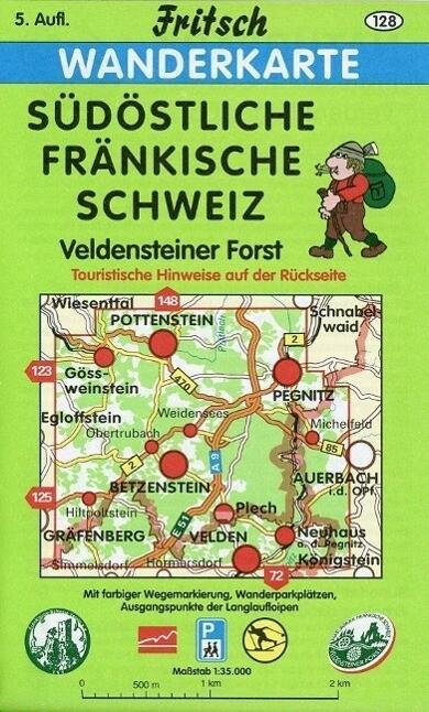 Südöstliche Fränkische Schweiz 1 : 35 000 Wanderkarte als Buch