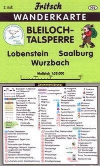 Bleiloch-Talsperre 1 : 35 000. Fritsch Wanderkarte als Buch