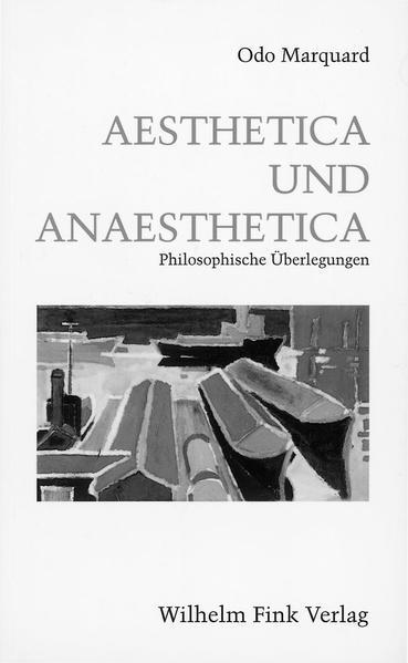 Aesthetica und Anaesthetica als Buch