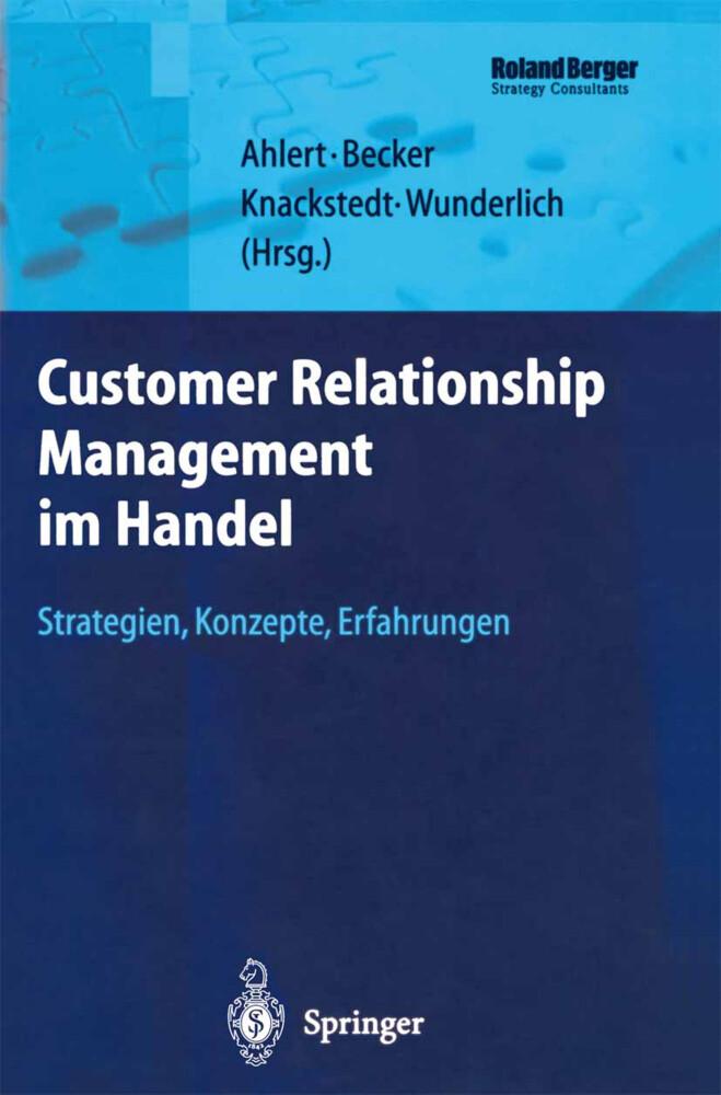 Customer Relationship Management im Handel als Buch