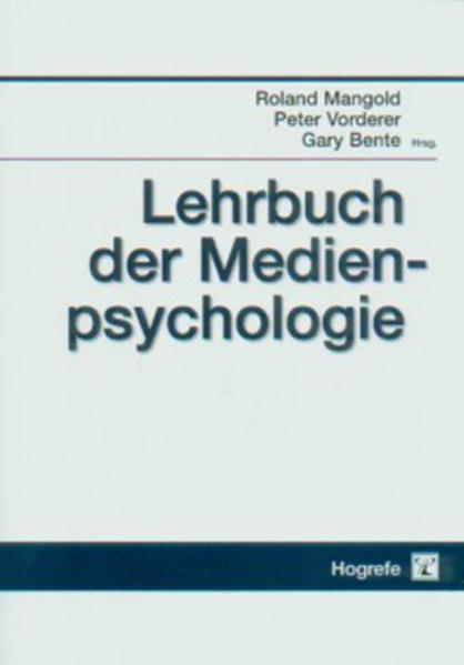 Lehrbuch der Medienpsychologie als Buch