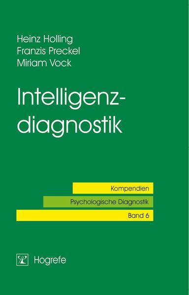 Intelligenzdiagnostik als Buch