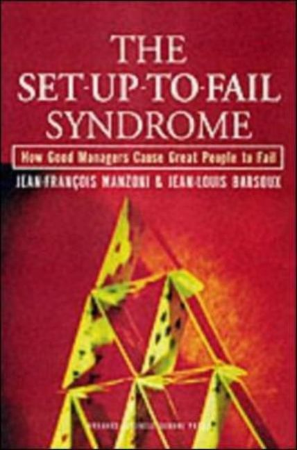 The Set-Up-To-Fail Syndrome als Buch