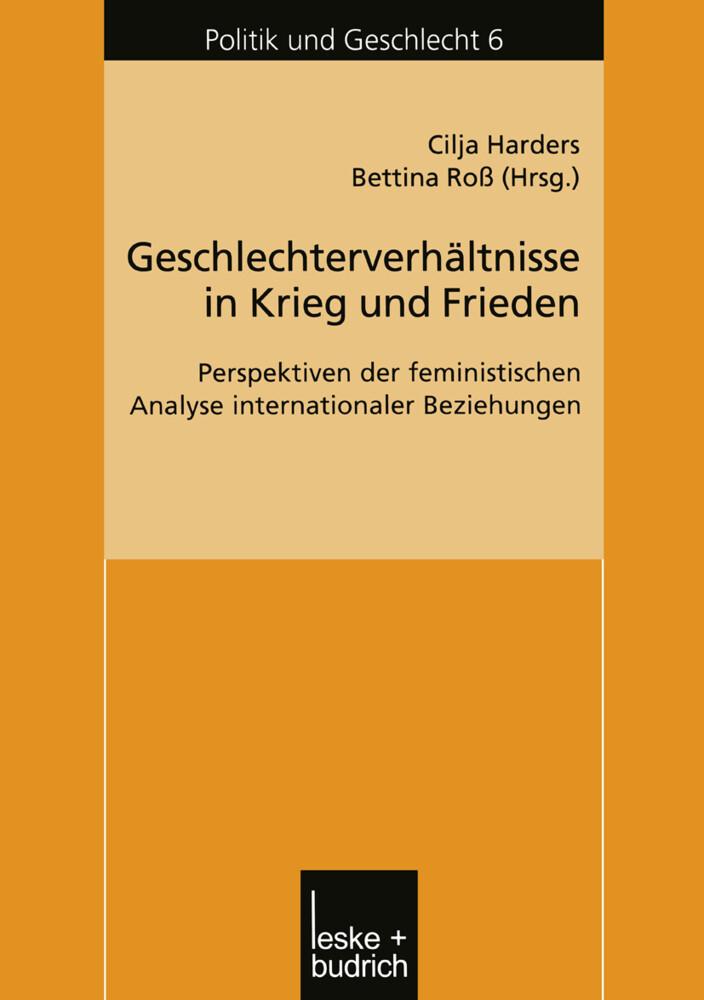 Geschlechterverhältnisse in Krieg und Frieden als Buch