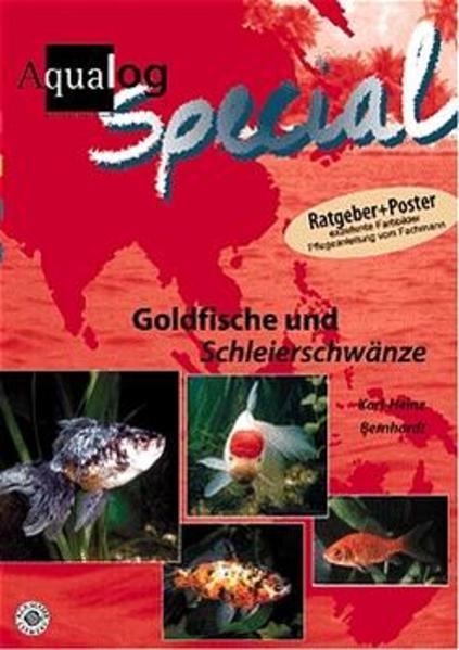 Goldfische und Schleierschwänze als Buch