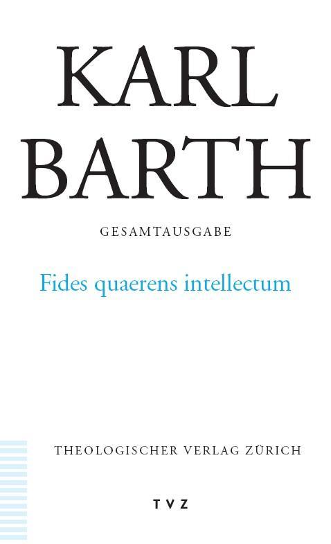 Fides quaerens intellectum als Buch