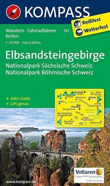 Elbsandsteingebirge 1 : 25 000 als Buch