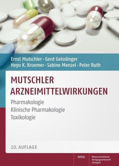 Mutschler Arzneimittelwirkungen als Buch