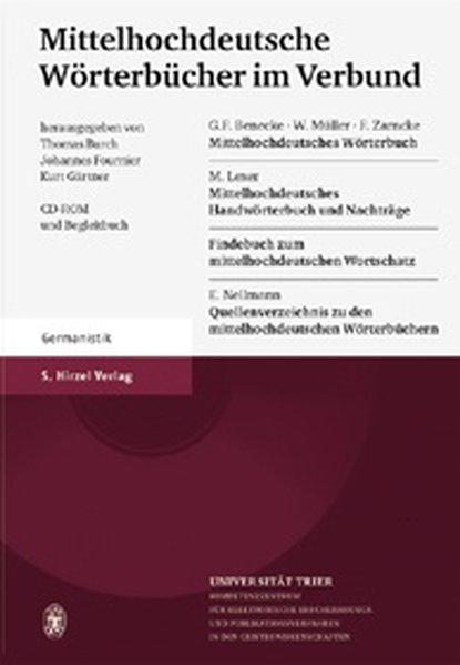 Mittelhochdeutsche Wörterbücher im Verbund als Software