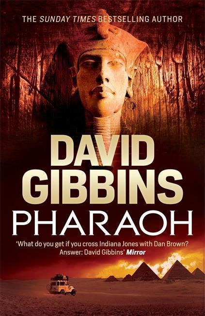 Pharaoh als Buch von David Gibbins