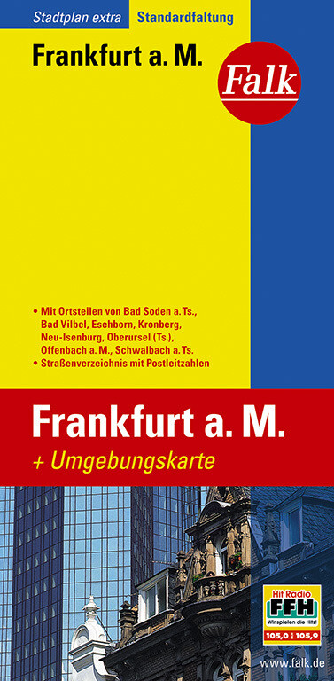 Falk Stadtplan Extra Standardfaltung Frankfurt am Main 1:20 000 als Buch