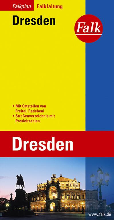Falk Stadtplan Falkfaltung Dresden als Buch