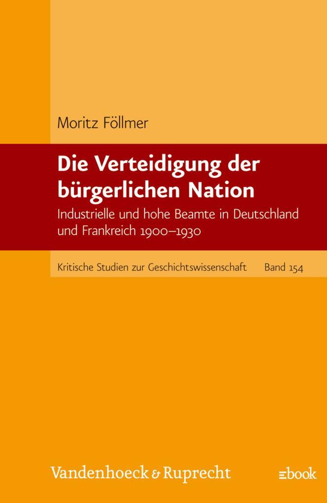 Die Verteidigung der bürgerlichen Nation als eBook