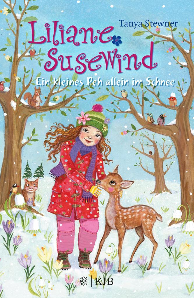 Liliane Susewind - Ein kleines Reh allein im Schnee als eBook von Tanya Stewner
