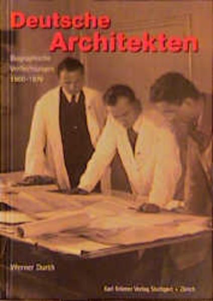Deutsche Architekten als Buch