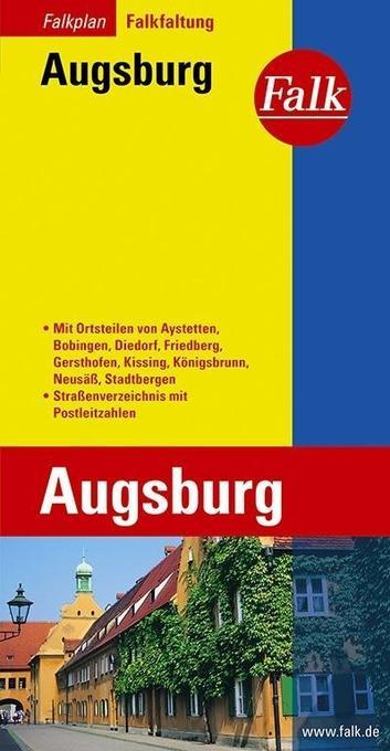 Falk Stadtplan Falkfaltung Augsburg als Buch